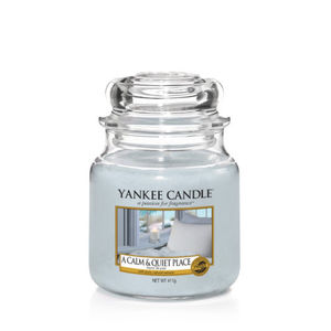 Yankee Candle Classic Medium Jar A Calm And Quiet Place Ref: 1577129E