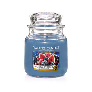 Yankee Classic Medium Jar Mulberry & Fig Delight Ref: 1556246E