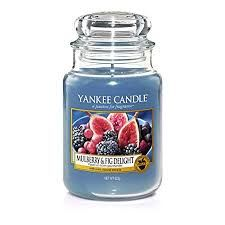 Yankee Classic Large Jar Mulberry & Fig Delight Ref: 1556245E