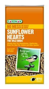 Gardman Sunflower Hearts 4Kg - 05180-06430