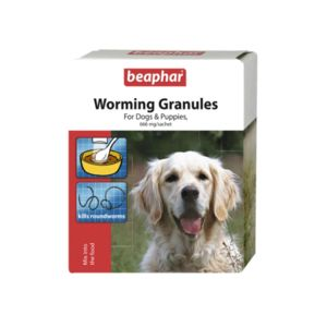 Beaphar Worming Granules For Dogs 3X2G 17272