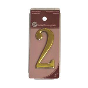 Centurion 2 Gold Numeral 2 Ref Gn2