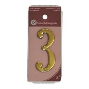 Centurion 2 Gold Numeral 3 Ref Gn3