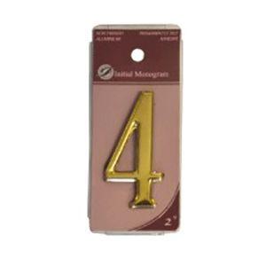 Centurion 2 Gold Numeral 4 Ref Gn4