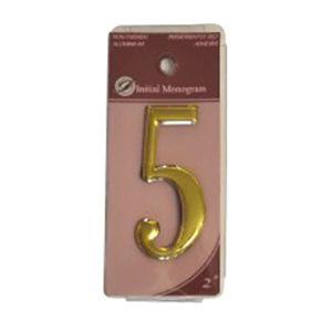 Centurion 2 Gold Numeral 5 Ref Gn5