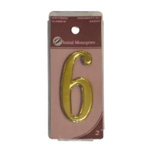 Centurion 2 Gold Numeral 6 Ref Gn6
