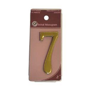 Centurion 2 Gold Numeral 7 Ref Gn7