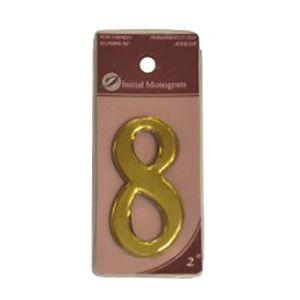 Centurion 2 Gold Numeral 8 Ref Gn8
