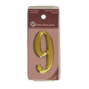 Centurion 2 Gold Numeral 9 Ref Gn9
