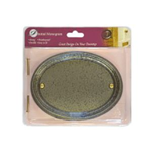 Centurion Medium Pewter Oval Plaque Ref Tc26P