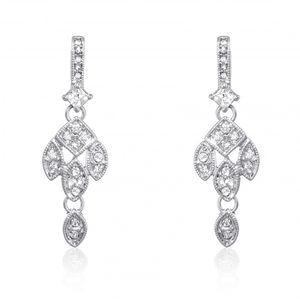 Crystal Drop Earrings 7034