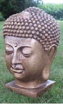 Davinci Large Buddah Head Statue Dvo-01Lw