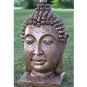 DaVinci Large Gold Thai Buddah Head DVO-02AGL