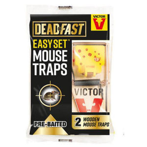 Deadfast Easy Set Mouse Trap Twin 20300397