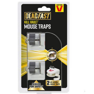 Deadfast Kill Vault Mouse Trap Twin 20300400