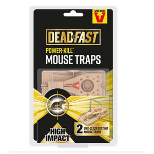 Deadfast Power Kill Mouse Trap Twin 20300398