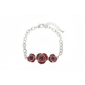 Enamel Poppy Bracelet 1911