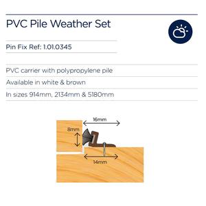 exitex-pvc-pile-weather-set-5180mm-brown