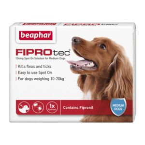 Fiprotec 134Mg X 1 Medium Dog Ref  14371