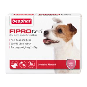Fiprotec 67Mg X 1 Small Dog Ref  14368