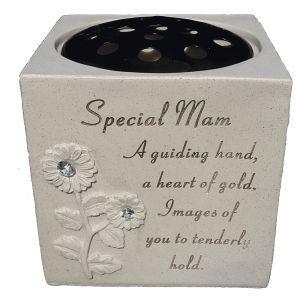 Fischhoff Special Mum Diamante Sunflower Rose Bowl DF15065-E
