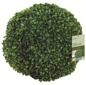 Gardman 30Cm Box Leaf Effect Topiary Ball - 02811