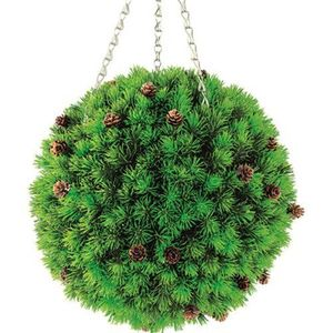 Gardman Cypress & Cones Topiary Ball - 02822