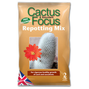Growth Tech Cactus Focus Repotting Mix 2L Mdcaf2