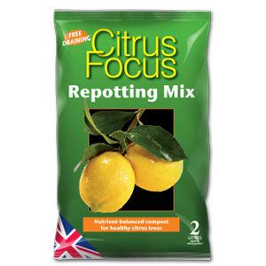 Growth Tech Citrus Focus Repotting Mix 2L Mdcif2