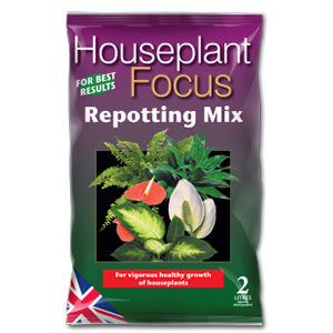 Growth Tech Houseplant Focus Repotting Mix 2L Mdhf2
