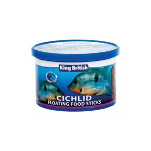 King British Cichlid Floating Fish Sticks 100G 17867