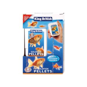 King British Goldfish Mini Pellets Easy Feeder 20G 17972
