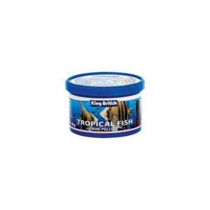 King British Tropical Fish Mini Pellets 45G 17853