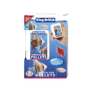 King British Tropical Fish Mini Pellets Easy Feeder 30G 17847