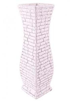 lotus-imports-ltd-ceramic-31cm-sparta-vase-white-slvr-ref-954147.jpg