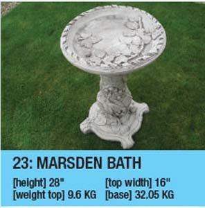 Marsden Bird Bath 23