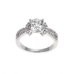 Micro Pave Cz Ring  - Large 1641