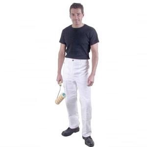 prodec-painters-trousers-white-30-waist-ref-pc199