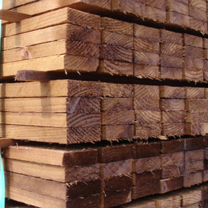 rough-sawn-100x100mm-brown-treated-fsc-