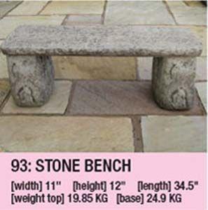 Stone Bench 102