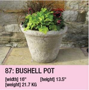 Stone Bushell Pot 87
