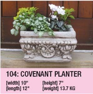 Stone Covenant Planter 104
