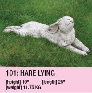 Stone Hare Lying 110