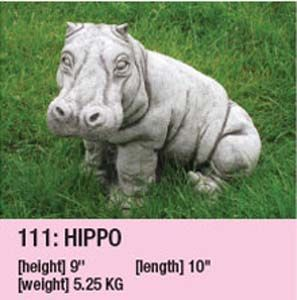 Stone Hippo 111