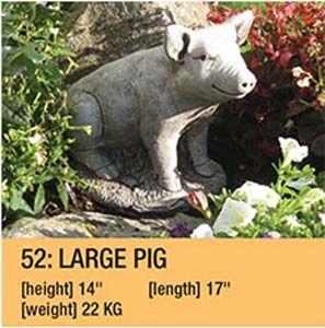 Stone Large Pig 55
