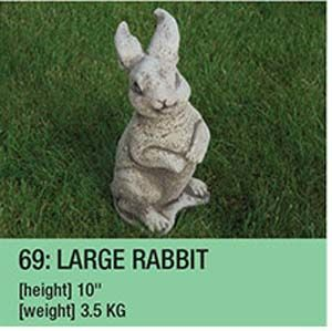Stone Large Rabbit Garden Ornament