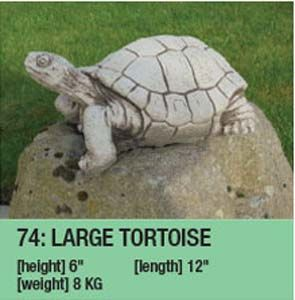 Stone Large Tortoise Ornament