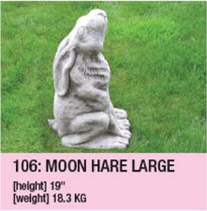 Stone Moon Hare Large 106