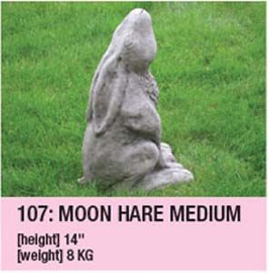 Stone Moon Hare Medium 107