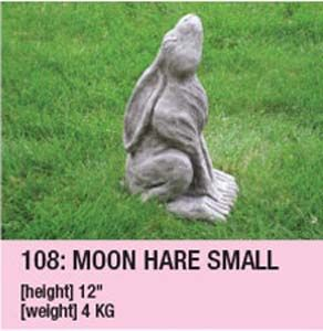Stone Moon Hare Small 108